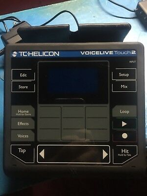 TC-Helicon VoiceLive Touch 2 Effects/Harmony/pitch
