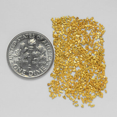0.6702 Gram Alaskan Natural Gold Nuggets - (#20725) - Hand-Picked Quality