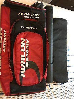 Avalon Classic Archery Backpack With Arrow Tube And Limb Bag