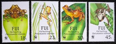 Fiji - 1988 - Frogs - SG 778/781 - MNH Set - CV £13.00+