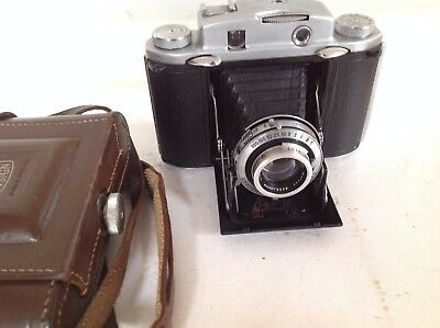 Ross Ensign Selfix 12-20 Folding Camera, 75mm Xpres f3.5 Ross, Epsilon Synchro