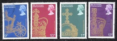 Great Britain - 1978 - 25th Anniversary - SG 1059/1062 - Used Set