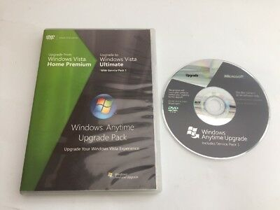 Microsoft Windows Upgrade From Home Premium To Vista Ultimate