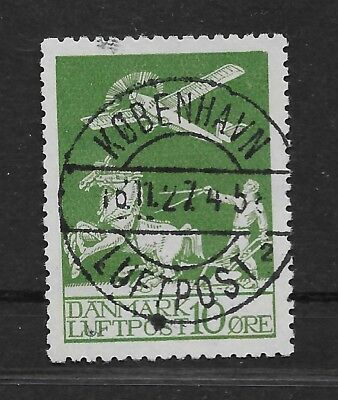 DENMARK. Air Mail. Used