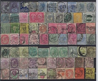 Queen Victoria Lot High Value Of Used Stamps Great Finds Possible 0323
