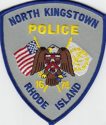 North Kingston Rhode Island Ri Police Patch