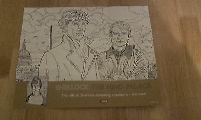 NEW! BBC Sherlock Colouring Double-Sided Poster!!!
