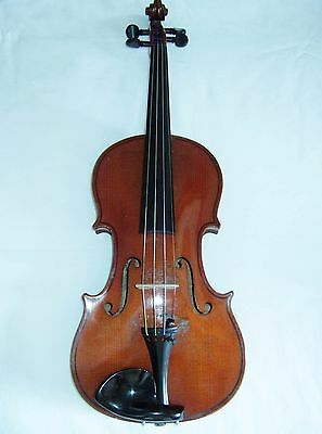 Beautiful sounding German Strad copy  good player & condition cw case bow  Rosin