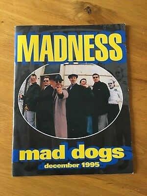 "Madness 1995 ""Mad Dogs"" Tour Programme"