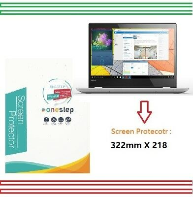 "2x OneStep Anti-Glare Screen Protector 14"" Lenovo Yoga 520 (14"") 2 in 1 Laptop"