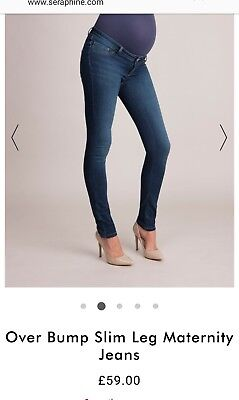 Seraphine maternity jeans size 10