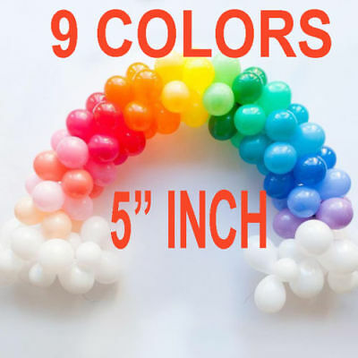 "5""inch Small Best Round Latex Balloons 100 Quality Standard ballon Colour baloon"