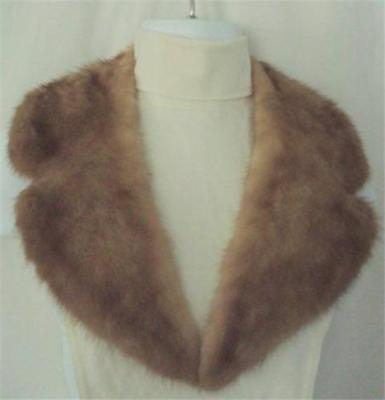 "Vintage Super Soft 36"" Mink Collar"