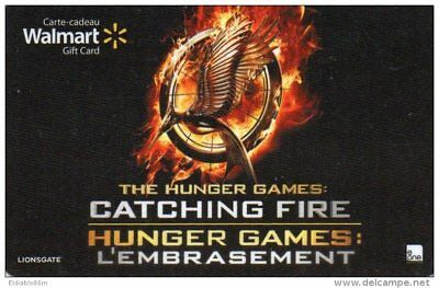 Gift Card - Canada - Walmart - Movie - The Hunger Games: Catching Fire
