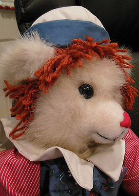"""Vintage MATI'S LIMITED EDITION ORIGINALS Raggedy Andy Bear 17.5"""" NWT"""