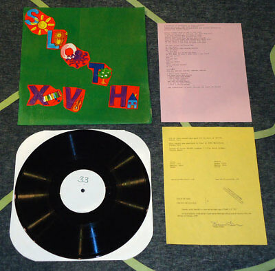 Sloth - XV - LP [Lim. 100 · Individually designed and hand-crafted] noothgrush