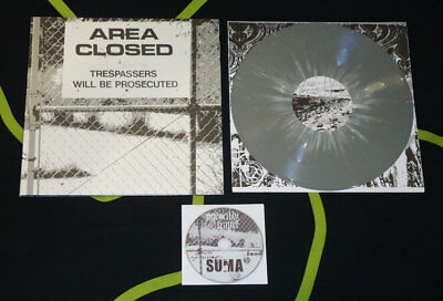 """Suma and Unearthly Trance - MK Ultra  - 12"""" EP + CD [Grey version · Lim. 100]"""