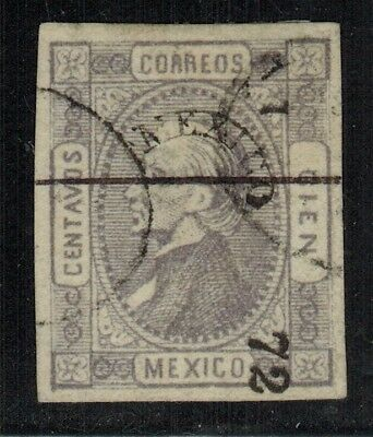 Mexico #86 1872 Used