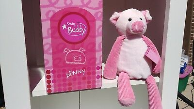 NWT Scentsy Buddy Penny The Pig Full Size With Box & Scent Pack