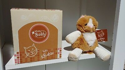 Nwt Scentsy Baby Scratch The Cat Scentsy Buddy Fragrance Plush Animal