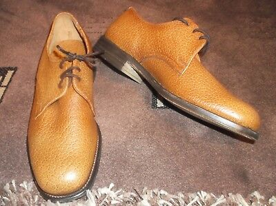 Vintage 1970s Super Regent Full Leather brown Shoes  Uk 7 Ex condition  FREE P&P