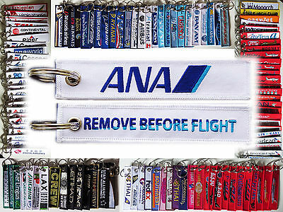Keyring ALL NIPPON AIRWAYS Inspiration of JAPAN Remove Before Flight tag key*