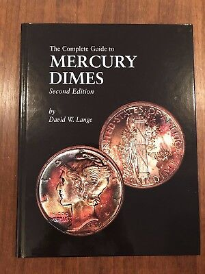 The Complete Guide to MERCURY DIMES by David Lange   2nd Condition   Hardcover