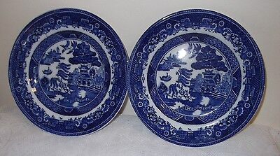 A Pair of Adderley Ware Side Plates