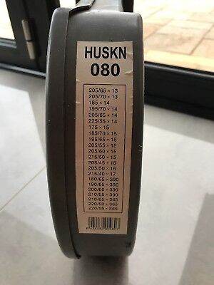 Husky 80 Snow Chains 9mm see photo for wheel sizes