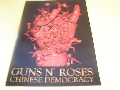 "Guns N' Roses ""chinese Democracy"" European  Tour Programme"