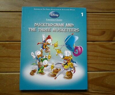 DUCKTARGNAN AND THE THREE MUSKETEERS.....No.1.Disney..Hard back....