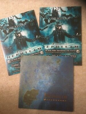 "Fields of the Nephilim 7"" vinyl plus flyers."