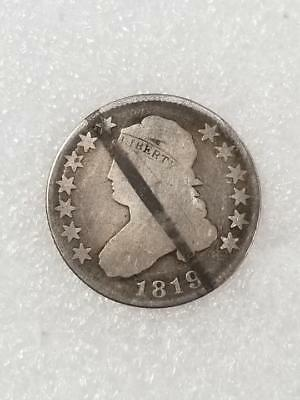 1819 US Capped Bust Quarter 25c 90% Silver Coin (LP2066664)