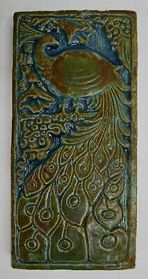 Vintage CALCO Peacock Tile California Clay Products