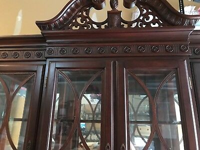 China Cabinet and Hutch- Local pickup