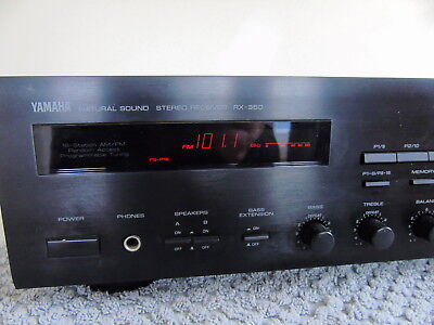 Yamaha Rx-350 Stereo Receiver -- Serviced --