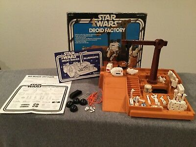 Vintage Kenner Star Wars Droid Factory with Box