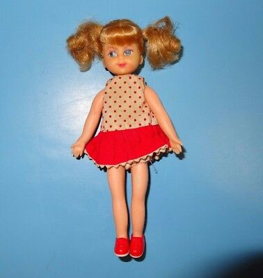 Vintage Barbie BUFFY DOLL - Vintage Buffy Doll with Dress, Panties, and Shoes
