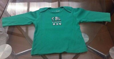 Baby Boys Green Timberland Long Sleeved Top ~ 12 Months