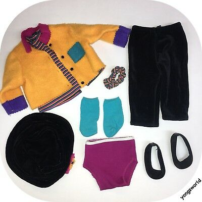 Pleasant Company American Girl 1996 First Day Outfit Jacket Shoes Hat Shirt Lot