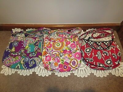 Vera Bradley Crossbody / Shoulder Bags (Lot of Three Bags) *VGUC*