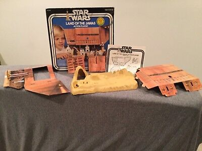 Vintage Kenner Star Wars Land of the Jawas Playset with Box