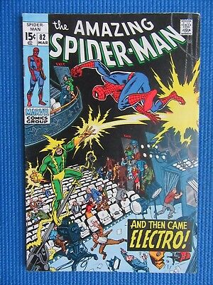 Amazing Spider-Man # 82 - (Fn/vf) - And Then Came Electro
