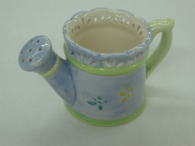 Painted Ceramic Watering Pale Decoration