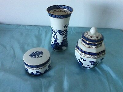 Royal Doulton/Booths Real Old Willow 3 piece