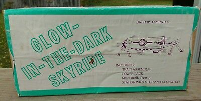 Super Rare 1950s Tony The Tiger Glow in The Dark Skyride w/Box and Instructions!