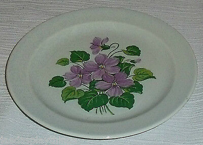 "Taylor Smith Taylor Luray Lu-Ray Pastels CHATHAM GREY Gray 6"" Bread Butter Plate"