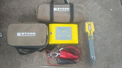 Rycom 8850 Underground Cable, Pipe and Line Locator with Transmitter/cables/case