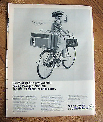 1965 Westinghouse Air Conditioner Ad