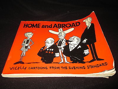 Home and Abroad - Vicky Cartoons